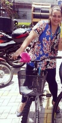 Daniella de Lavour Leitores que pedalam De Bike na Cidade Sheryda Lopes (3)