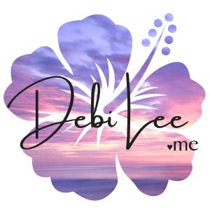 hibiscus DebiLee.me logo