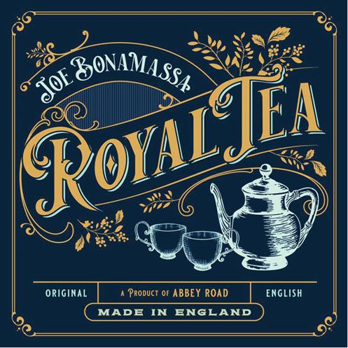 Joe Bonamassa schenkt koninklijke thee