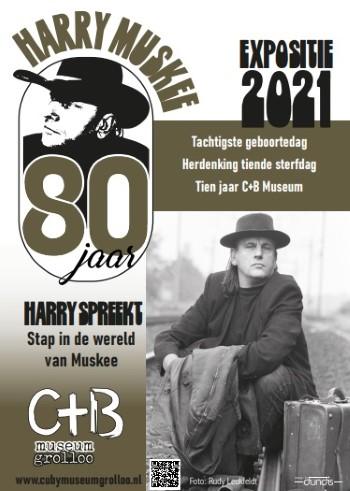 Expositie Harry Muskee 80 jaar in C+B Museum