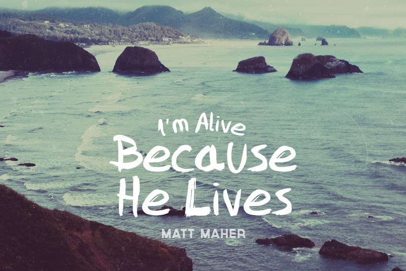 Image result for Because He Lives (Amen) by Matt Maher
