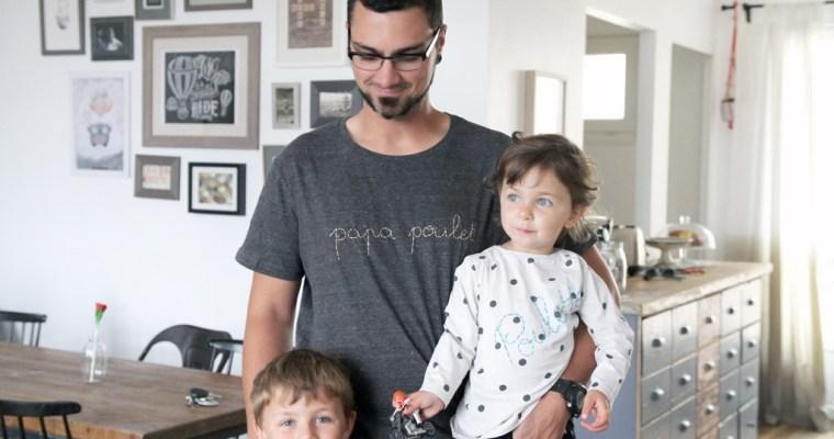 Un tee-shirt pour Papa Poulet