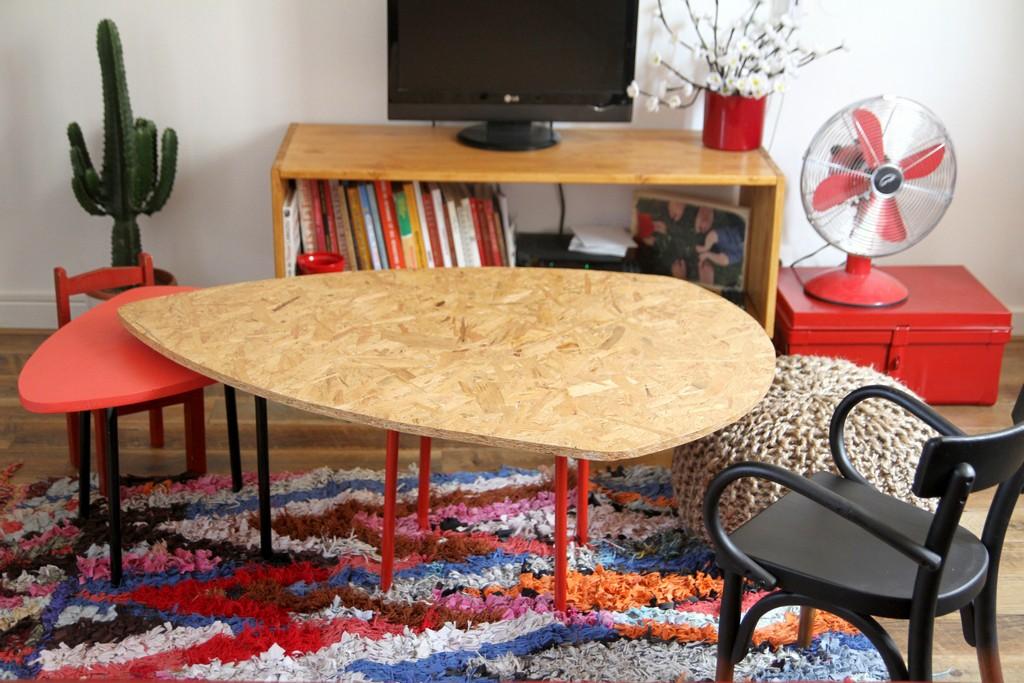 Nos Tables Basses Gigognes Ralises Avec Des Tabourets
