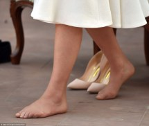 #saywah Duchess Of England Exposes -pedicure