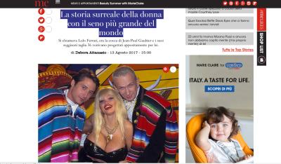 La storia surreale di Lolo Ferrari la donna con il seno più grande del mondo