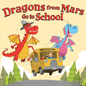 The dragons from Mars Go to School.
