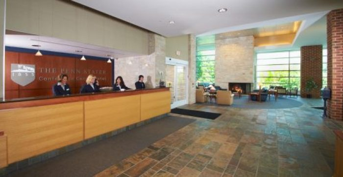 Photo of Penn Stater lobby