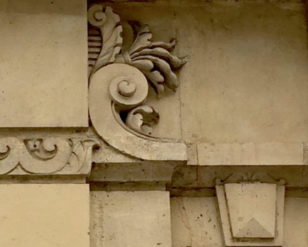 Photo of architectural detail in Paris