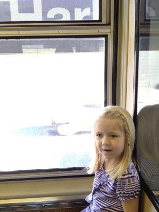 First train ride!