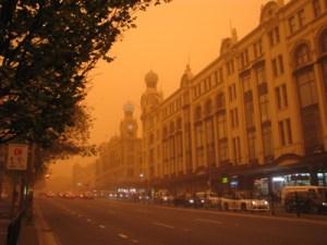 Sydney Dust Storm September 2009