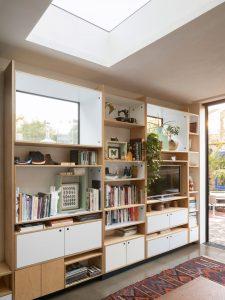 hidden storage 01, shelving, windows