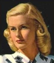1940s pageboy hairstyles deborah