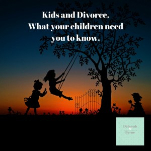 Kids and Divorce  What can you do to help your children
