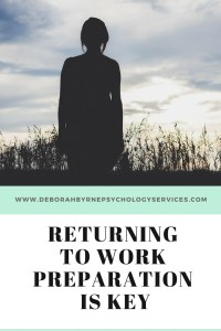 Returning to work after a mental health diagnoses DBpsychology (1)
