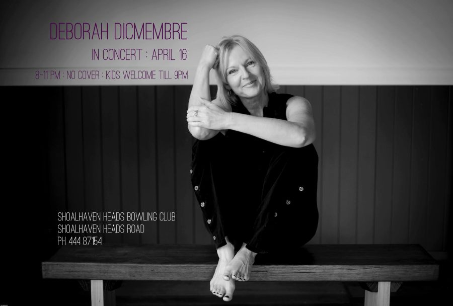 Deborah Dicembre in Concert at the Shoalhaven Heads Bowling Club