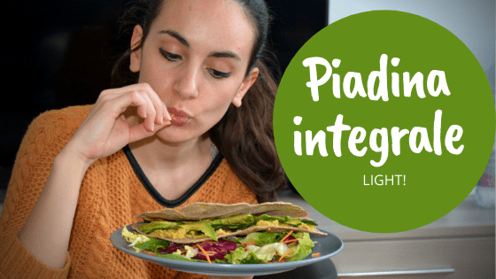 Piadine integrali light