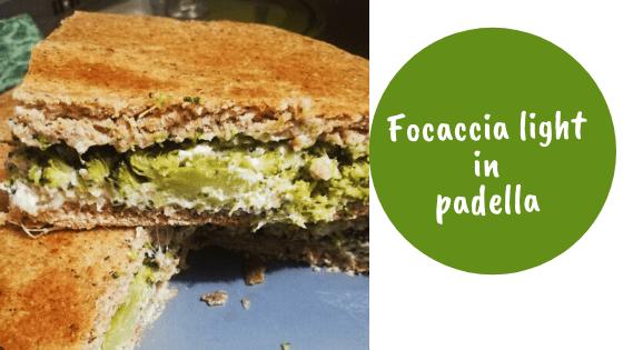 Focaccia in padella (light!) – ricetta perfetta