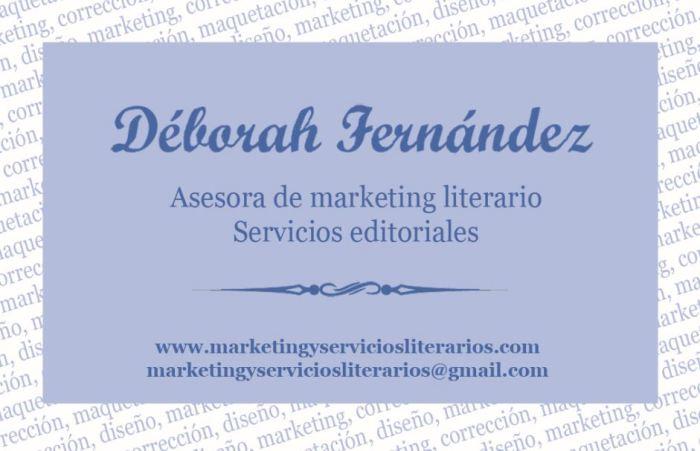 Tarjeta de visita - servicios editoriales