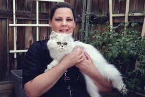 Cat Groomer, Teacher, Writer, Deborah Hansen, CFMG< CFCG