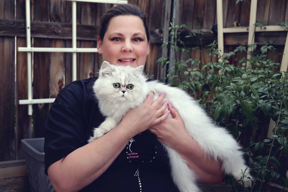 Cat Groomer, Teacher, Writer, Deborah Hansen, CFMG< CFCG