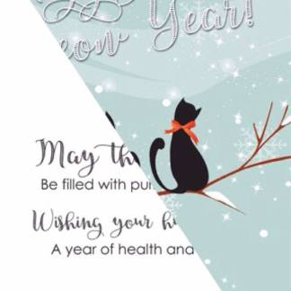 Cat Holiday Cards sold by Kitty's Kopy Kats