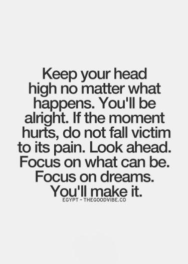 Focus on dreams