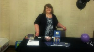 Deborah Book Signing 3 29 2014 at Living Real Conference