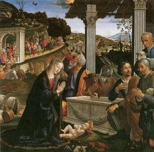 Baby Jesus with Joseph & Mary