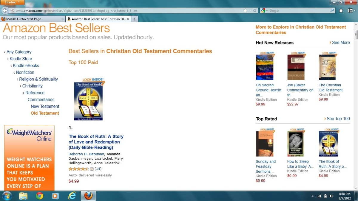 The Book of Ruth: A Story of Love and Redemption-Amazon Best Seller-No 1 in Old Testament Commentaries