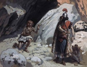 Samuel 24 tissot-david-and-saul-in-the-cave-50
