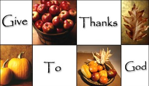 Give thanks-to-god