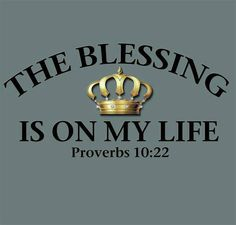 Proverbs 10 The Blessing of the LORD Enriches Lives