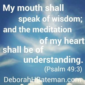 Psalm 49 3