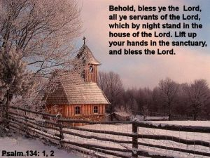 Psalm 134 1,2