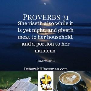 Proverbs 31 15