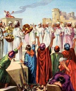 Ezra 3 celebrating God's blessings