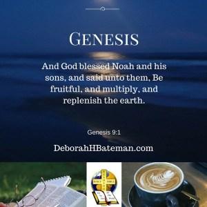Genes 9 1 God blessed Noah