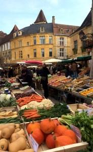 Sarlat Saturday Market