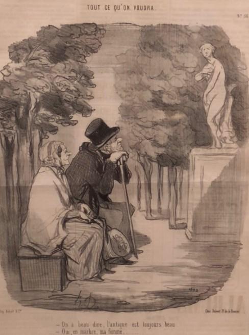 Honoré Daumier lithograph