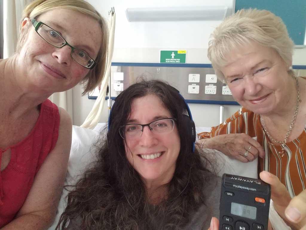 Friends who helped Deborah Munro