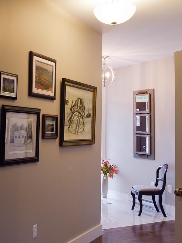french salon-style art display