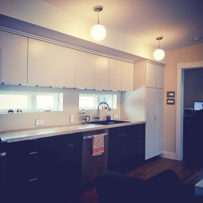 kitchen by deborah nicholson lighting and interiors