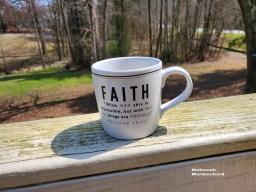 Faith cup on Deck