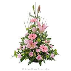 BELOVED Traditional tall arrangement AUS 839