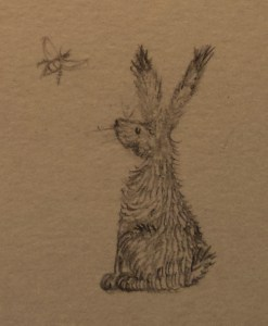 The Honeybee and the Hare drawing