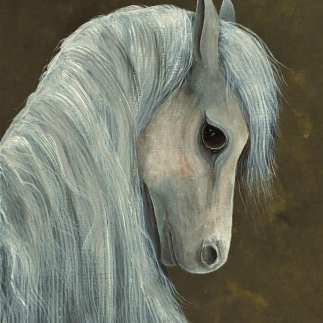Wild Pony painting