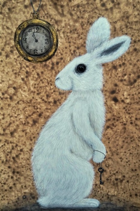The White Rabbit illustration - slowing down the days