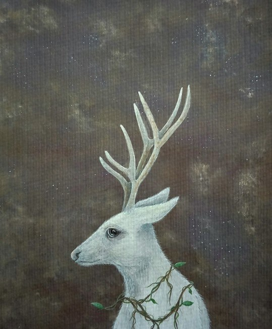 Watching the Stars and Painting the White Stag