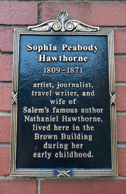 Sophia Peabody Hawthorne Sign