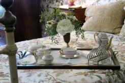 Breakfast Set on Bed